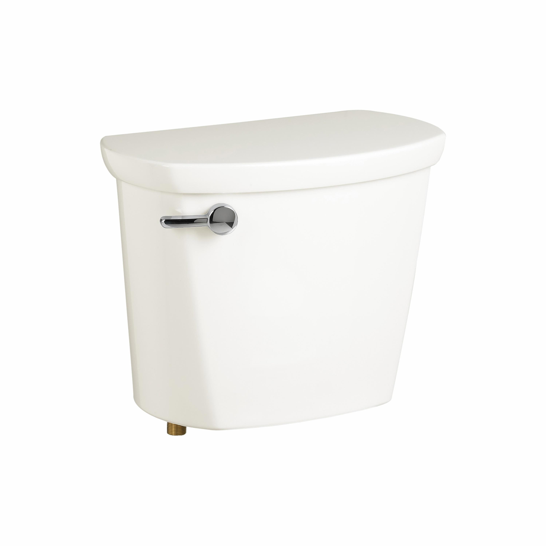 American Standard 4188A104.020 Toilet Tank, Cadet® Pro™, 1.28 gpf, 3 in Left Hand Lever Flush, White, Import