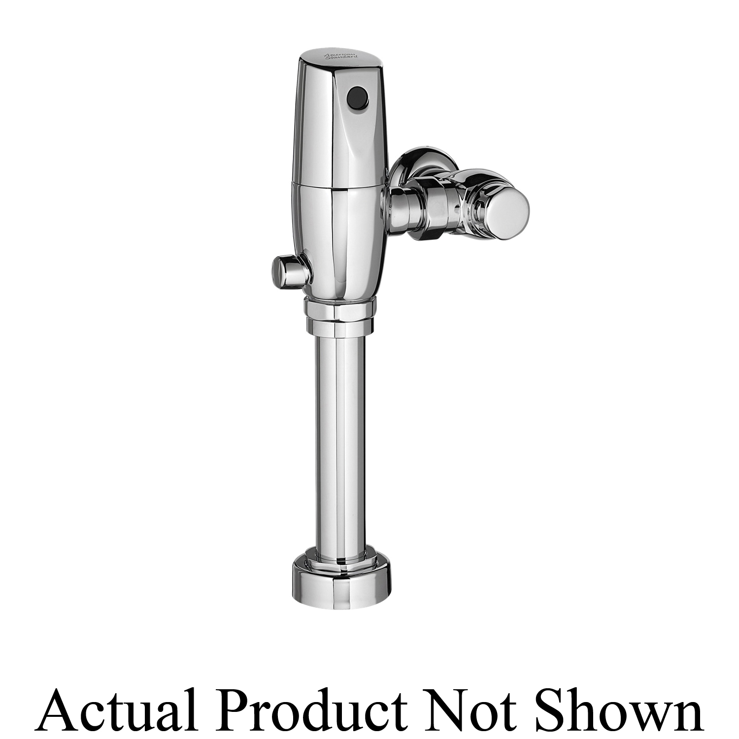 American Standard 6065161.002 Selectronic® Exposed Toilet Flush Valve, CR-P2 Lithium Battery, 1.6 gpf, 1 in Inlet, 1-1/2 in Spud, 25 to 80 psi, Polished Chrome, Import
