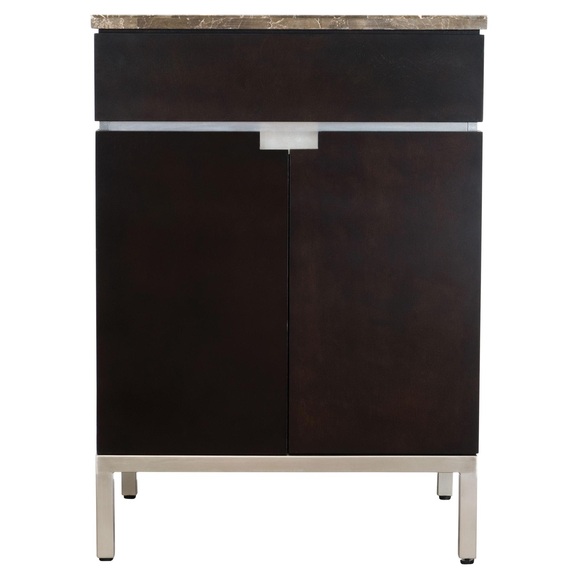 American Standard 9205024.339 Contemporary Vanity Cabinet Only, Studio™, 30 in OAH x 18-1/4 in OAW x 22 in OAD, Freestanding Mount, Import