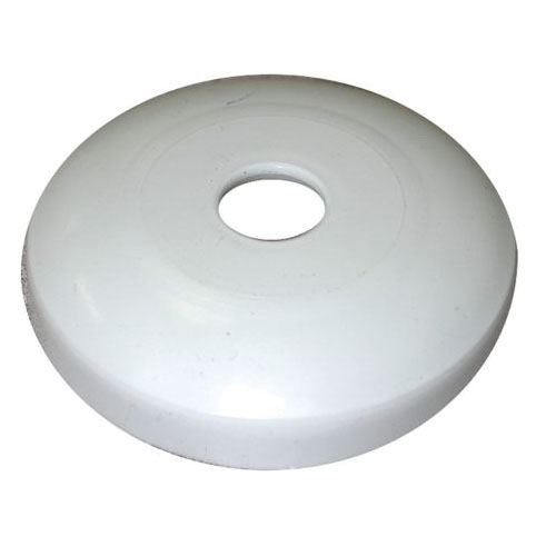 Jones Stephens™ E15050 Low Pattern Shallow Flange Escutcheon, For Use With Kitchen Sink, 1/2 in ID x 5/8 in OD, Plastic