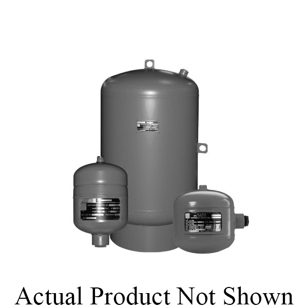 Amtrol® Therm-X-Trol® ST-12C-150 ST-C Diaphragm In-Line Thermal Expansion Tank, 6.4 gal Tank, 3.2 gal Acceptance, 150 psig, 12 in Dia x 18 in H