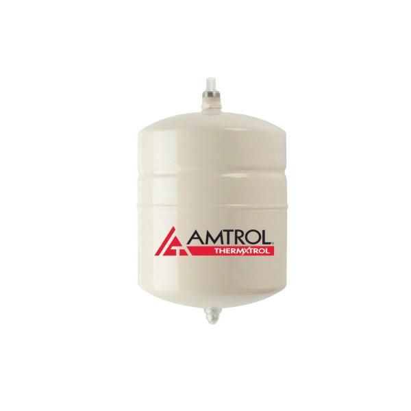 Amtrol® Therm-X-Trol® 140N43 ST Series In-Line Thermal Expansion Tank, 2 gal Tank, 0.9 gal Acceptance, 150 psig Pressure, 8 in Dia x 13 in H