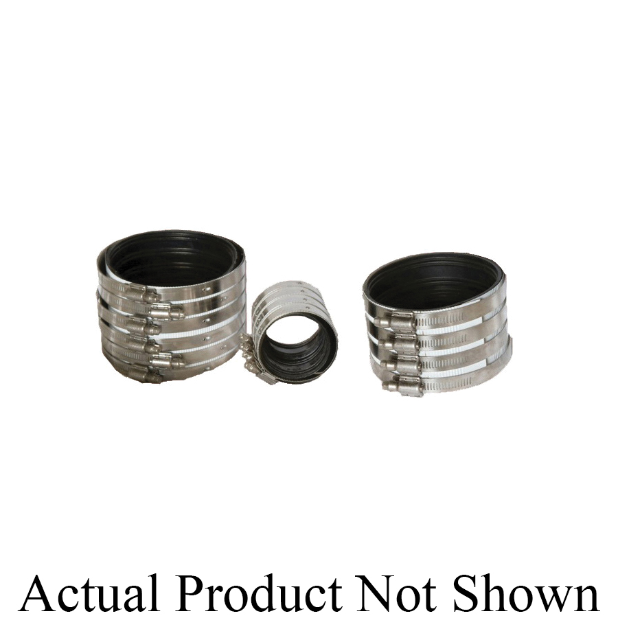 Anaco-Husky 2002 Husky® HD 2000 Pipe Coupling, 1-1/2 in Nominal, 304 Stainless Steel, Domestic