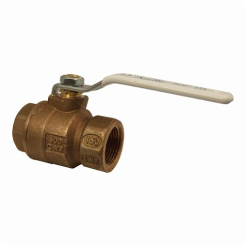 Apollo™ 77CLF-148-01-A 77CLF-A 2-Piece Ball Valve, 2 in Nominal, FNPT End Style, Bronze Body, Full Port, RPTFE Softgoods, Domestic