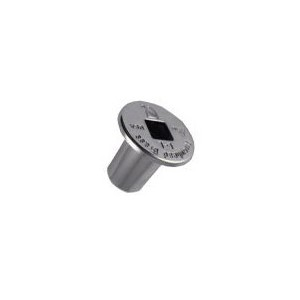 Arrowhead Brass 44 Escutcheon/Flange, For Use With 258/259 Series Log Lighter Valves, Domestic