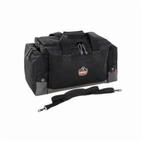 Arsenal® 13009 5008 Reflective Accents Fire and Safety Gear Bag, Black, 1000D Polyester, 7688 cu-in Storage, 15-1/2 in H x 16 in W x 31 in D