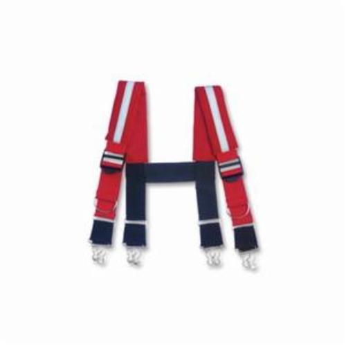 Milwaukee® 48-22-8110 Breathable Electrician's Work Belt, 29 Pockets, Denier Nylon, Black/Red