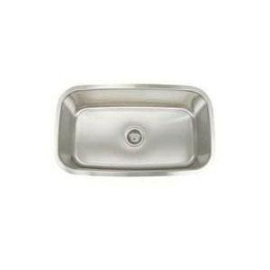 Artisan AR3118-D9 Premium Kitchen Sink, 29-1/2 in L x 16-1/8 in W x 9 in D Bowl, 31-1/2 in L x 18-1/4 in W, Under Mount, 304 Stainless Steel, Lustrous Satin