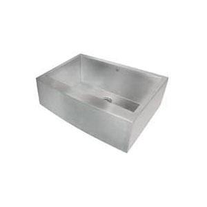 Artisan CPAZ3021-D10 Chef Pro Apron Kitchen Sink, Rectangular, 30 in W x 21 in D x 10 in H, Under Mount, 304 Stainless Steel