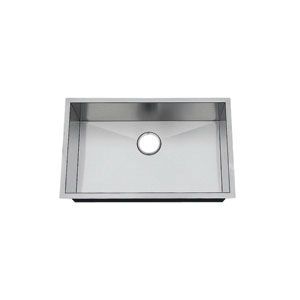 Artisan CPUZ2919-D10 Chef Pro Kitchen Sink, 27 in L x 17 in W x 10 in D Bowl, 29 in L x 19 in W, Under Mount, 304 Stainless Steel