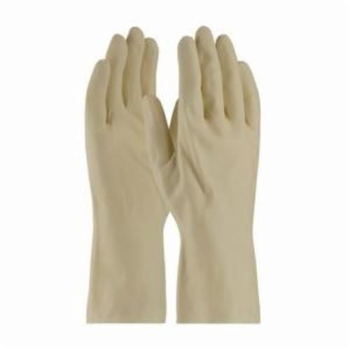 Assurance® 47-L171B/L Chemical-Resistant Gloves, L, Natural Rubber Latex, Blue, Unlined Lining, 11.8 in L, Resists: Abrasion, Cut, Puncture and Tear, Unsupported Support, Straight Cuff, 18 mil THK