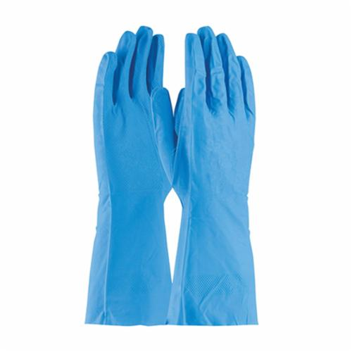 Assurance® 48-L302T/XL Heavy Duty Chemical Resistant Gloves, XL, Ambidextrous Hand, Cotton/Natural Rubber Latex, Orange, Flock Lining, 13 in L, Resists: Abrasion, Acid, Alcohol, Alkaline, Caustic, Grease, Ketone, Liquid, Salt and Tear, Unsupported Support