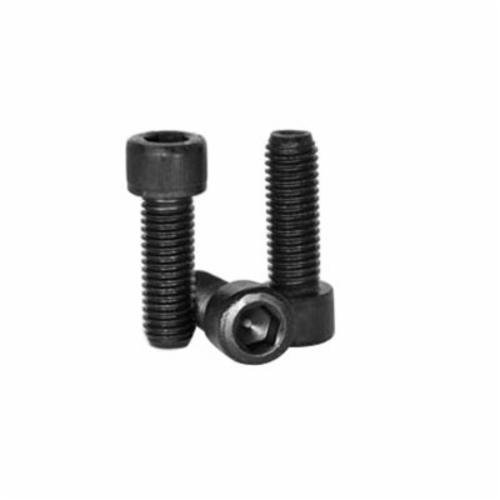 BBI 011543 1960 Partially Threaded Round Socket Cap Screw, 1-8, 5 in OAL, Heat Treated Alloy Steel, 3A Grade