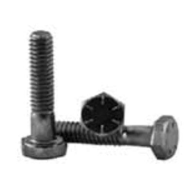 BBI 452138 Fully Threaded Cap Screw, 3/8-16, 1 in L Under Head, 8 Grade, Alloy Steel, Plain