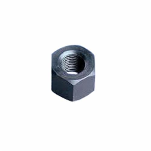 BBI 330390 Finished Hex Jam Nut, 3/8-24, Low Carbon Steel, CR+3 Zinc Plated