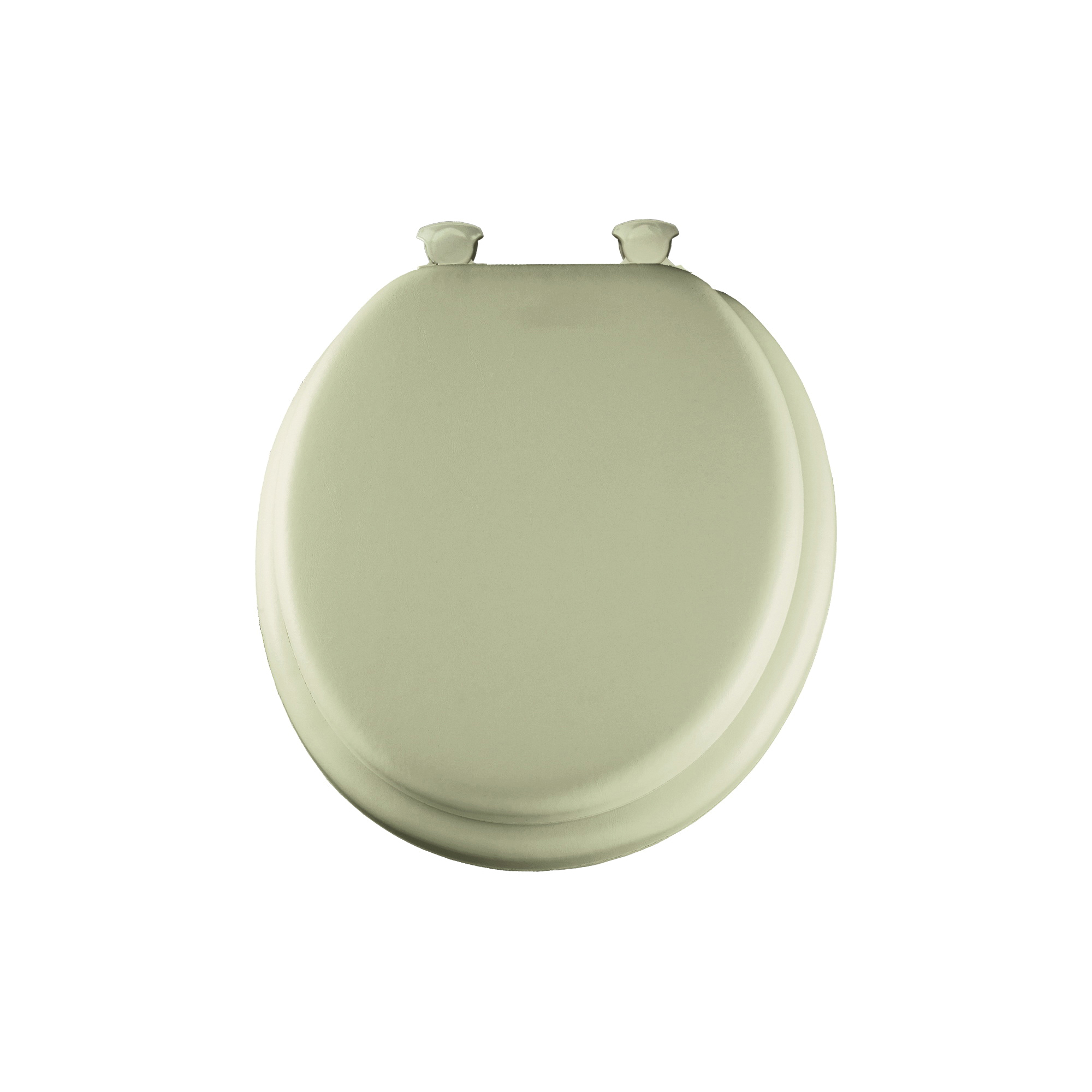 Mayfair® 13EC 006 Toilet Seat, Round Bowl, Closed Front, Plastic, Bone, Easy Clean/Change® Hinge