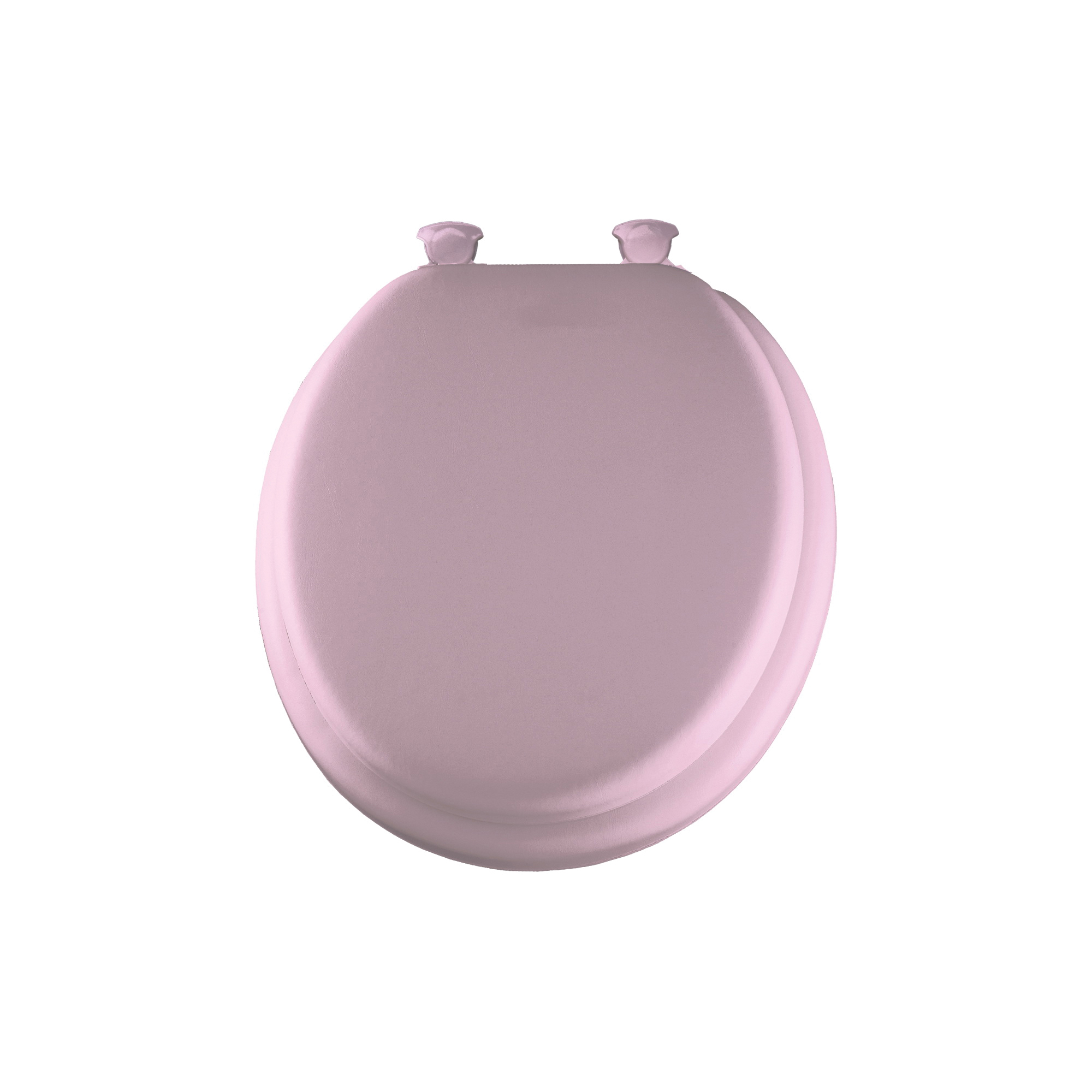 Mayfair® 13EC 023 Toilet Seat, Round Bowl, Closed Front, Wood, Easy Clean/Change® Hinge, Pink
