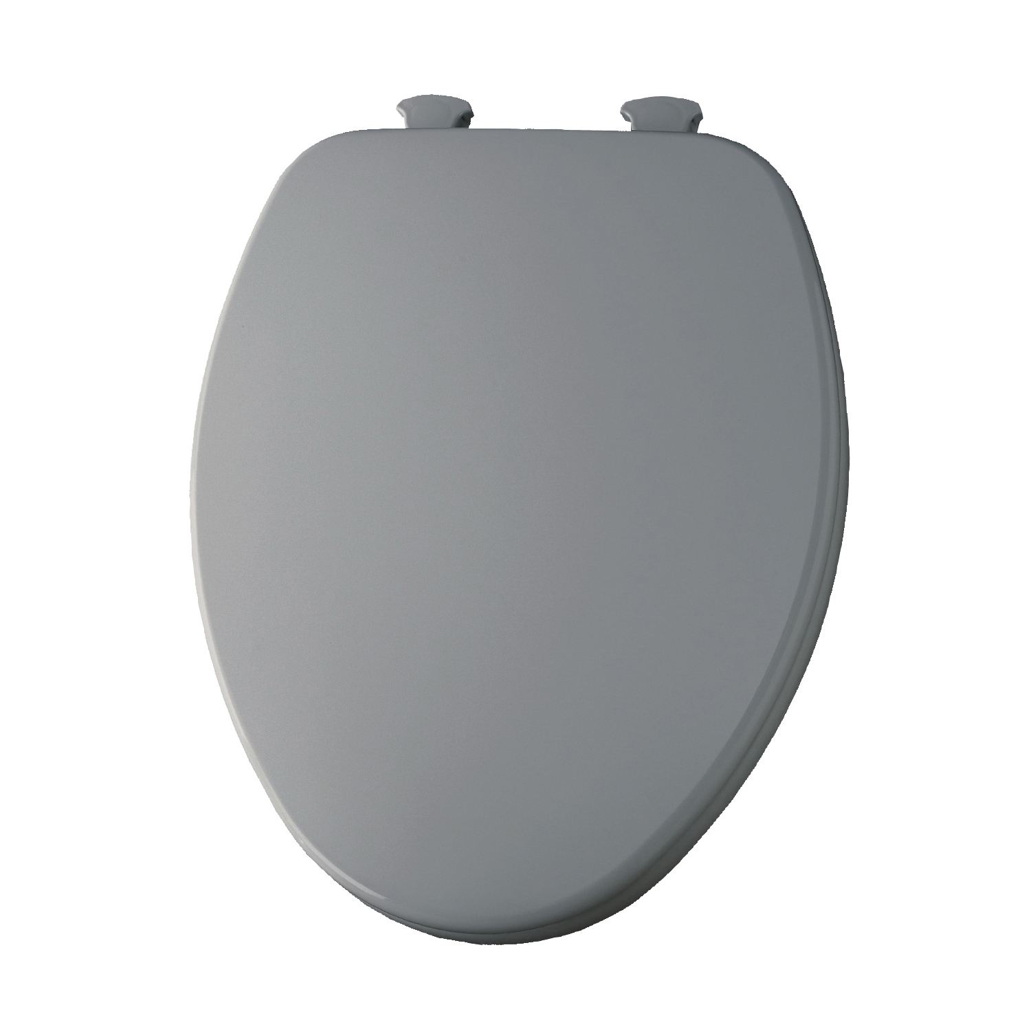 Church® 7F585EC 062 Toilet Seat With Cover, Elongated Bowl, Closed Front, Wood, Ice Gray™, Easy Clean/Change® Hinge