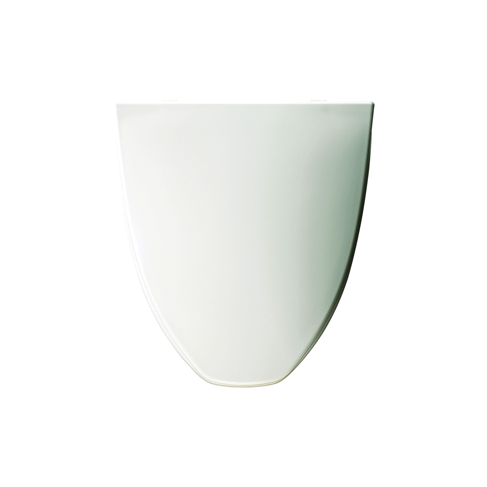 Bemis® LC212 000 Toilet Seat With Cover, Elongated Bowl, Closed Front, Plastic, White, Domestic