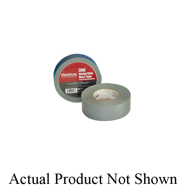 Shurtape® 105699 PC 621 Heavy Duty Duct Tape, 55 m L x 48 mm W, 11 mil THK, Rubber Adhesive, Polyethylene Film with Cloth Carrier Backing, Silver