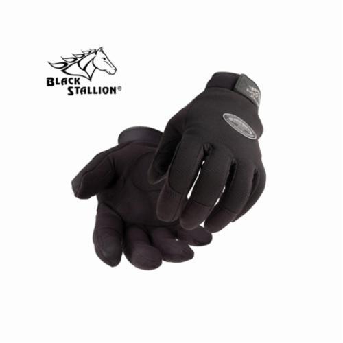 Black Stallion® 850-L Premium Welding Gloves, L, Elkskin, Yellow, Unlined Lining, Rigid Cuff