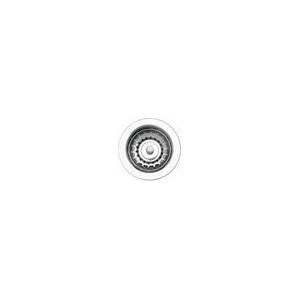 Blanco 440007 Deluxe™ Decorative Basket Waste Strainer, Stainless Steel, Polished Chrome