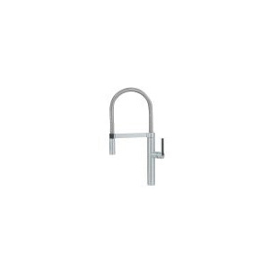 Blanco 441407 Semi-Pro Kitchen Faucet, Culina™, 1.8 gpm Flow Rate, Satin Nickel, 1 Handles, 1 Faucet Holes, Function: Traditional