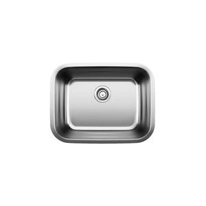 Blanco 441398 Stellar™ Laundry Sink, Rectangular, 23 in W x 17-3/4 in D, Under Mount, 304 Stainless Steel, Refined Brushed