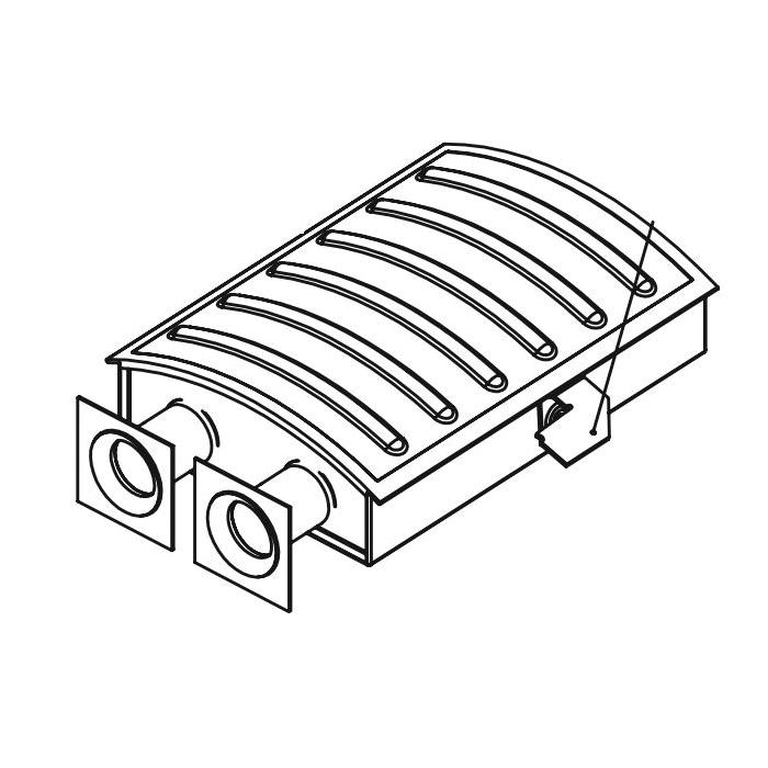 Bradford White® 228-49859-01 Ultra Low NOx Main Burner Assembly, For Use With: Model U175SN, U2XR75SN and U75T80RN Ultra Low NOx Water Heater