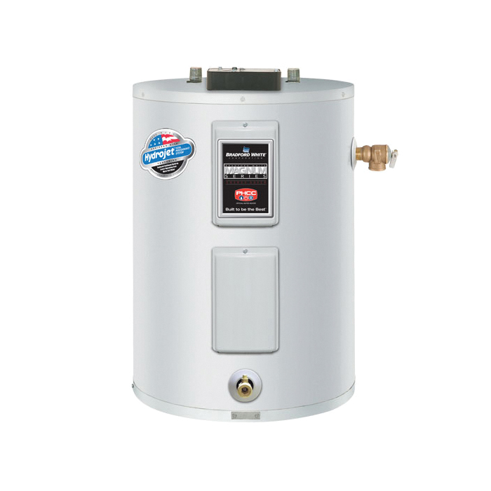 Bradford White® ElectriFLEX LD™ LE130L3-3NCWW Light Duty Lowboy Electric Water Heater, 28 gal Tank, 4.5 kW, 208 VAC, 3 ph
