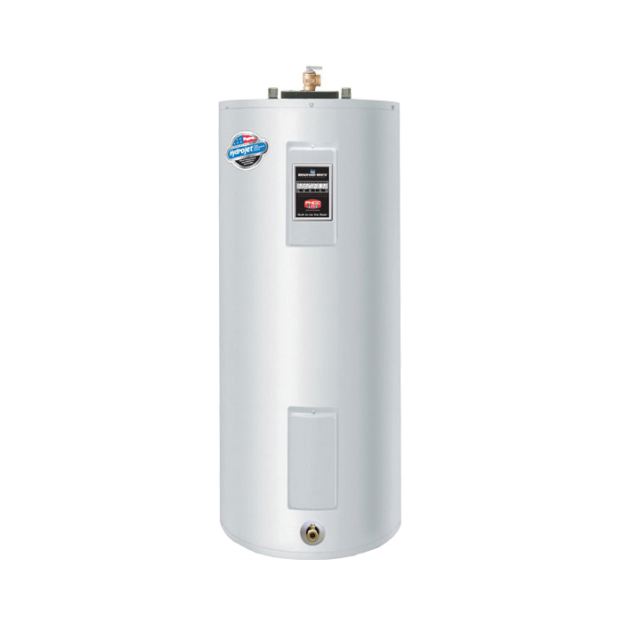 Bradford White® ElectriFLEX LD™ LE240S3-3NCWW Light Duty Upright Electric Water Heater, 40 gal Tank, 4.5 kW, 208 VAC, 3 ph, Short