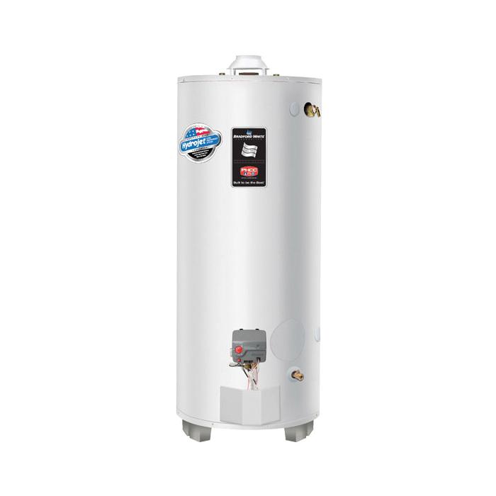 Bradford White® LG275H763N Gas Water Heater, 75 gal Tank, 76000 Btu/hr Heating, Natural Gas Fuel, Atmospheric Vent, Domestic