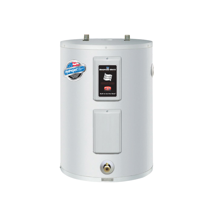 Bradford White® RE240L6-1NCWW Lowboy Electric Water Heater, 38 gal Tank, 208 VAC, 4.5 kW, 1 ph Phase, Domestic