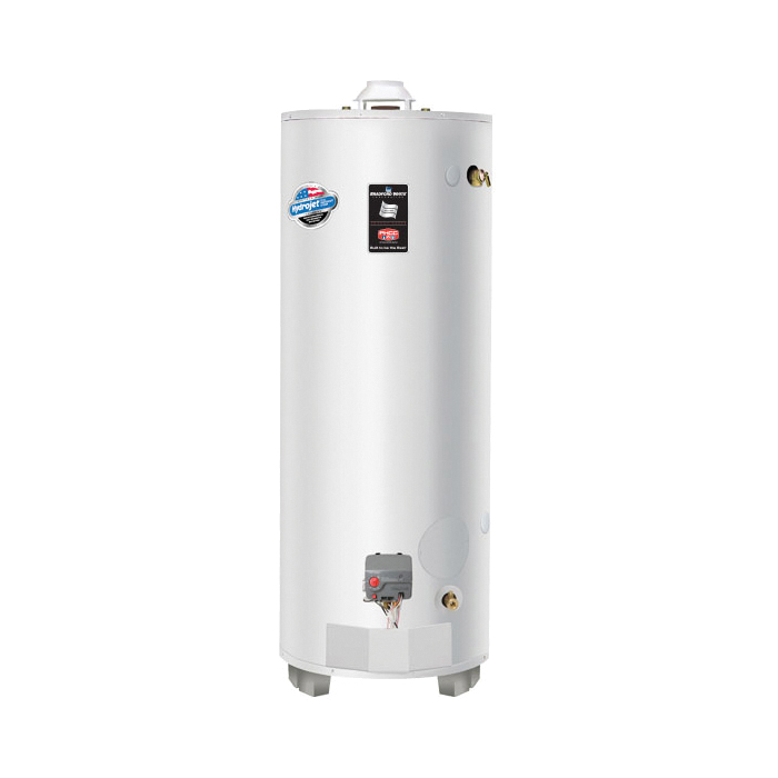 Bradford White® ULG2100H853N Gas Water Heater, 100 gal Tank, 85000 Btu/hr Heating, Natural Gas Fuel, Atmospheric Vent, 79 %, Domestic
