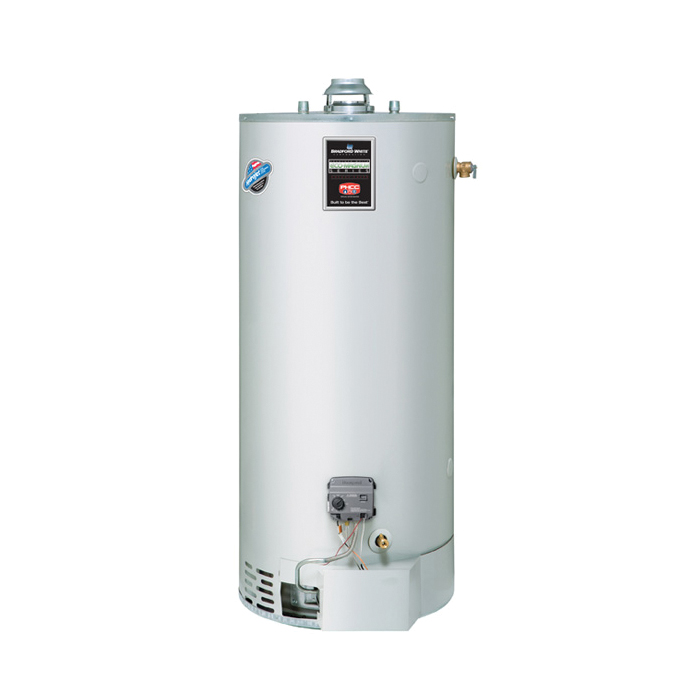 Bradford White® ULG275H763N Gas Water Heater, 75 gal Tank, 76000 Btu/hr Heating, Natural Gas Fuel, Atmospheric Vent, 79 %, Domestic