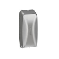 Bradley® BradEX® 6A01-110000 Diplomat Sensor Activated Automatic Foam Soap Dispenser, Satin, 27 oz Capacity, Surface Mount, Stainless Steel