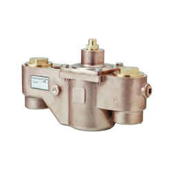 Bradley® Navigator® S59-2200 Standard Thermostatic Mixing Valve, 2 in, NPT, 125 psi, 200 gpm, Brass Body, Domestic