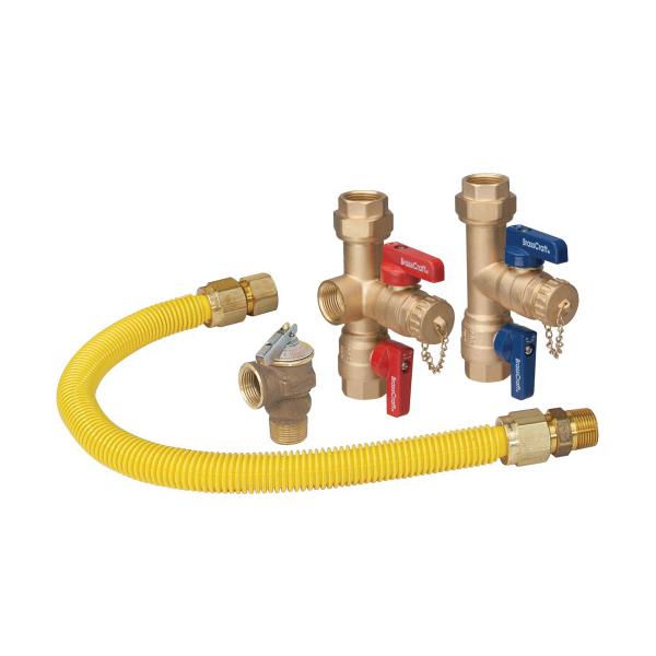 BrassCraft® TK3SRB21-24X Tankless Water Heater Installation Kit