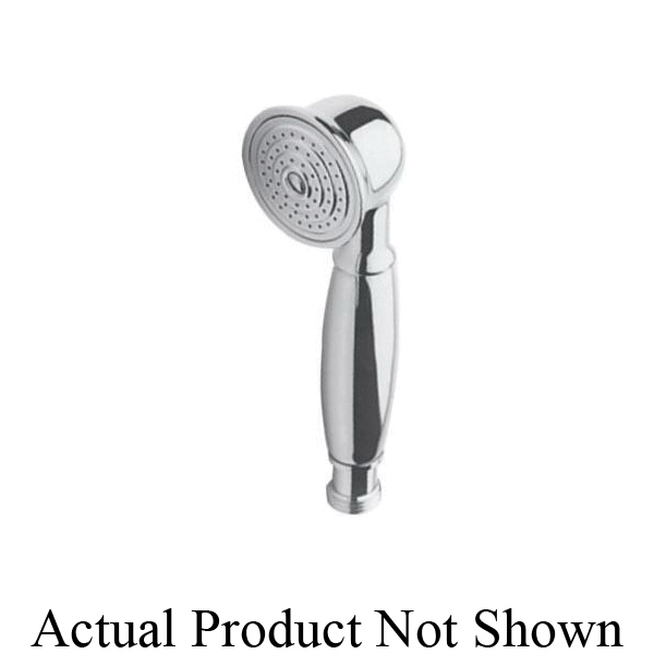 Newport Brass® 281/15S Model 281 Traditional Style Hand Shower, 2 in Dia 1 Shower Head, 1.8 gpm, 1/2 in NPSM Connection, PVD Satin Nickel