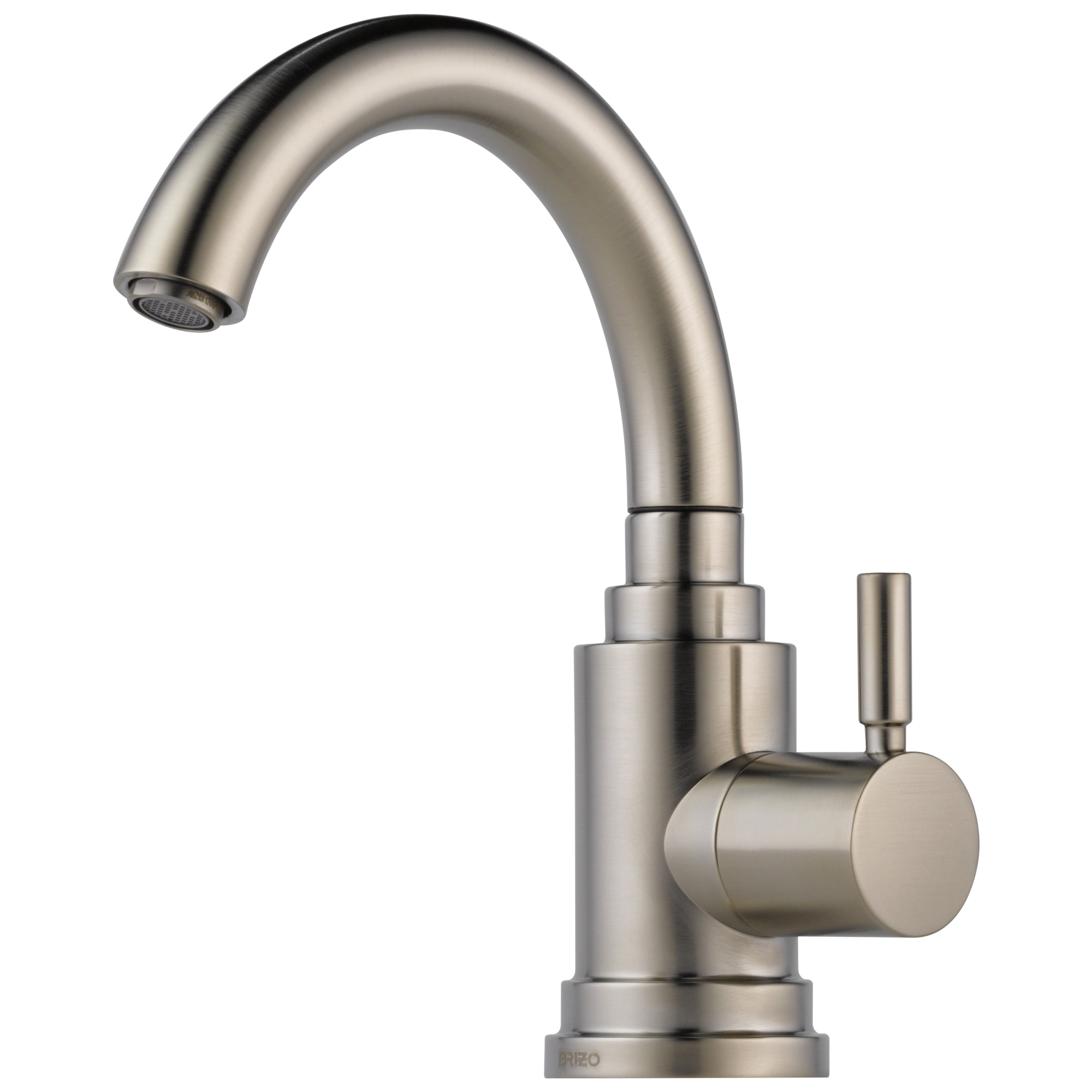 Brizo® 61320LF-SS Euro Beverage Faucet, 1.5 gpm Flow Rate, Stainless Steel, 1 Handles, Domestic