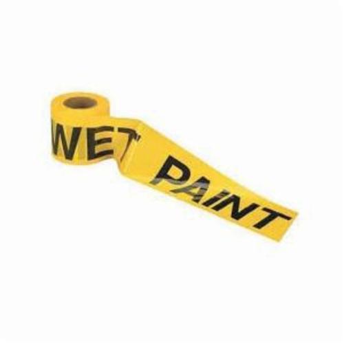 C.H.Hanson® 15002 Heavy Duty Barricade Safety Tape, Yellow/Black, 1000 ft L x 3 in W, Caution Do Not Enter Legend, Polyethylene