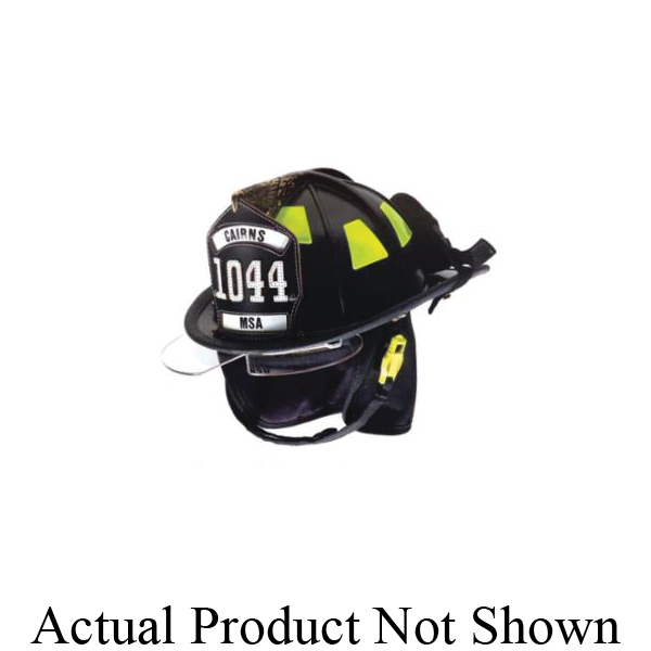 Cairns® 1044DSB Traditional Fire Helmet, Ratchet Suspension, NFPA 1971-2018