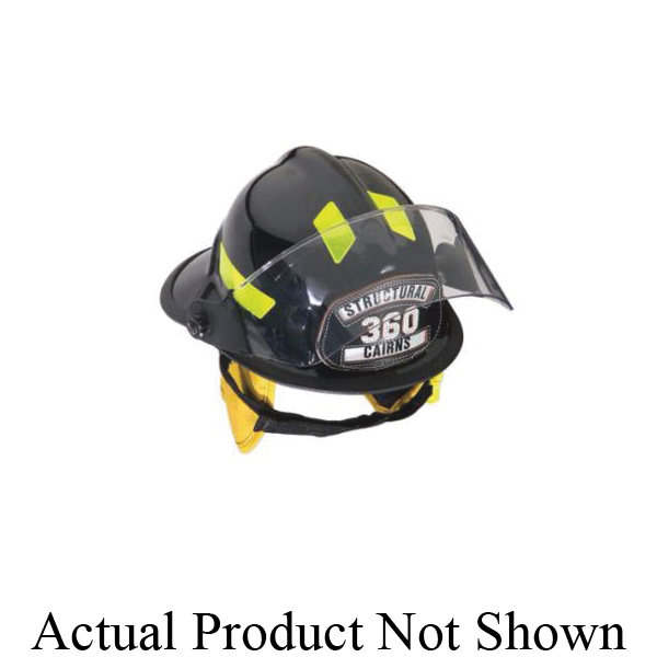 Cairns® 1044XSW Traditional Fire Helmet, Ratchet Suspension, NFPA 1971-2018