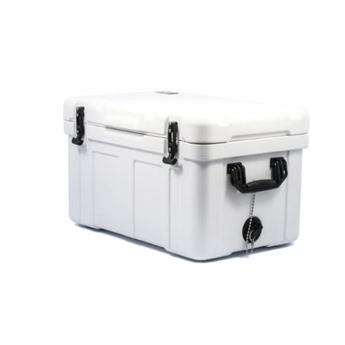 Camco 51870 Caribou Cooler, 55 L Capacity, White