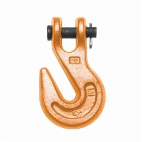 Campbell® 4503315 Grab Hook, 1/4 in Trade, 4100 lb Load, 30/43 Grade, Clevis Attachment, Alloy Steel