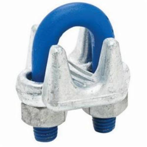Campbell® T7670649 Wire Rope Thimble, 3/8 in, Malleable Iron, Electro-Galvanized