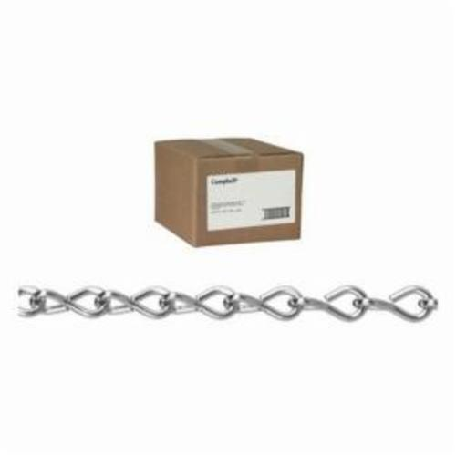 Campbell® T0140523 System 3 Welded Proof Coil Chain, Single Loop/Straight Link, 5/16 in Trade, 30 Grade, 92 ft L, 1900 lb Load