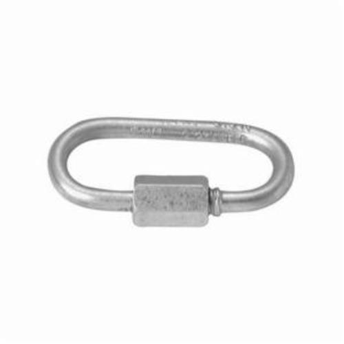 Campbell® T7625204 Open Rigid Eye Bolt Snap, 3/8 in, 3-13/32 in L, 3/8 in, 70 lb, Polished