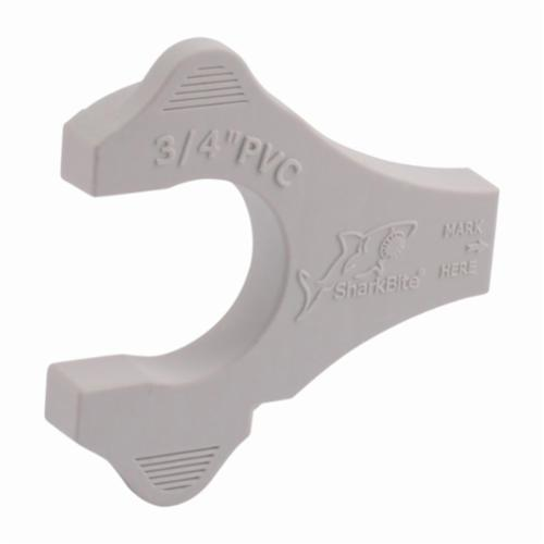 Sharkbite® UIP712 Push-to-Connect Depth Gauge and Disconnect Clip, PVC