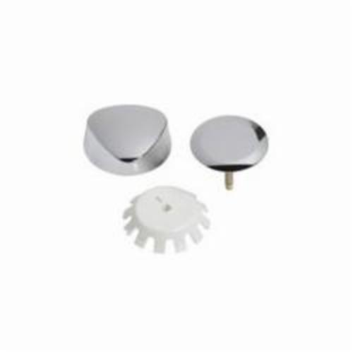 Geberit TurnControl™ 151.550.21.1 Traditional Trim Kit, Plastic, Polished Chrome